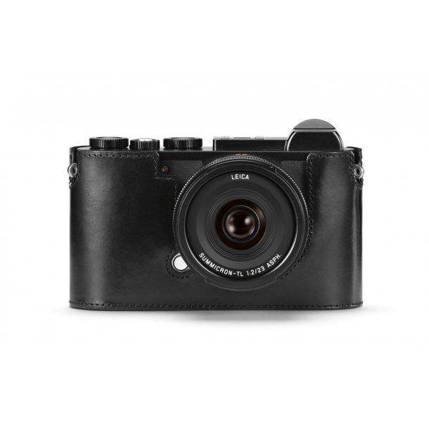 LEICA kamerabeskytter sort læder CL