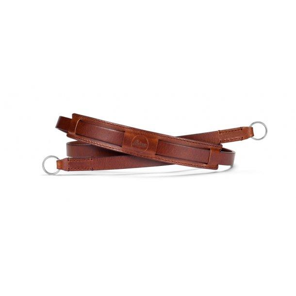 LEICA skulderrem vintage brun læder