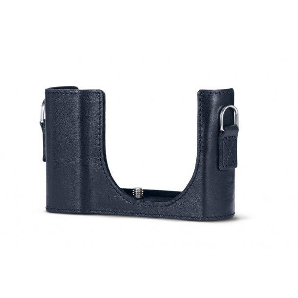 LEICA kamerabeskytter blå læder C-LUX
