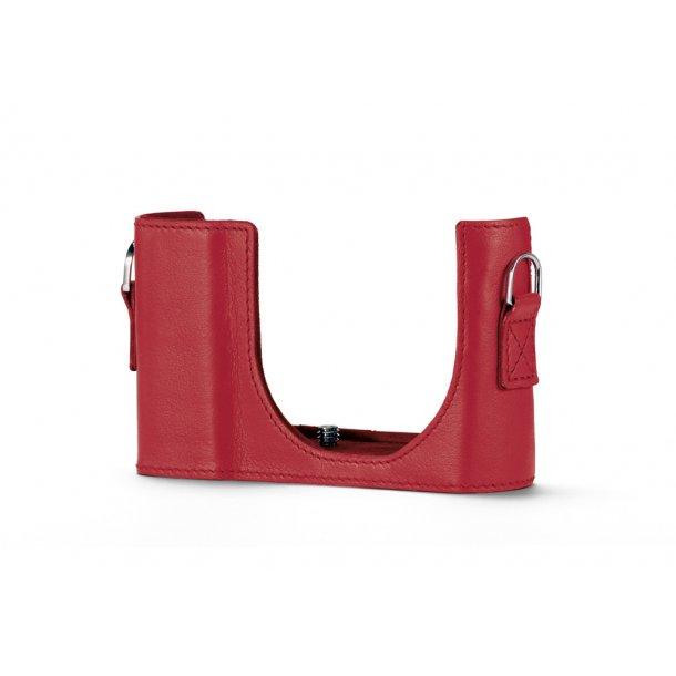 LEICA kamerabeskytter rød læder C-LUX