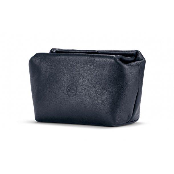 LEICA soft pouch blå læder C-LUX
