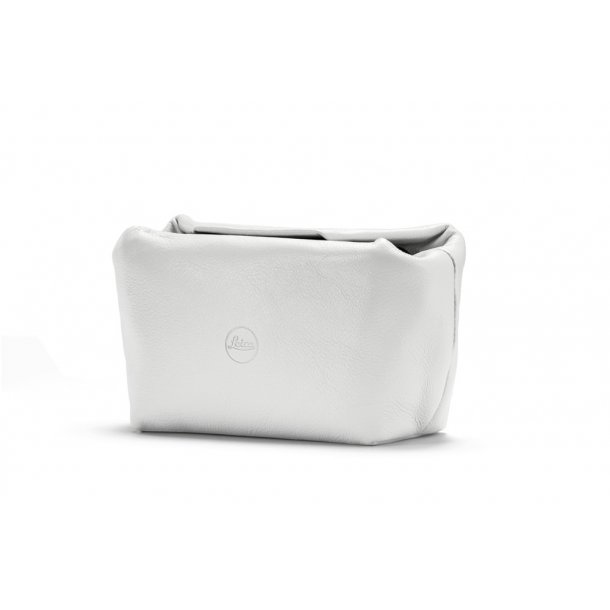 LEICA soft pouch hvid læder C-LUX