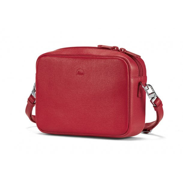 LEICA skuldertaske rød læder C-LUX