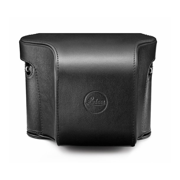 LEICA B-taske sort læder