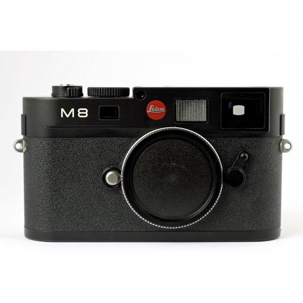 LEICA M8 sort kamerahus (brugt)