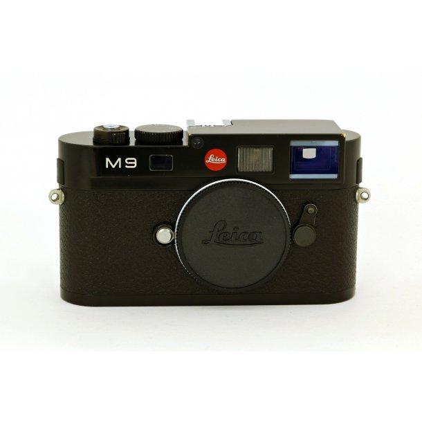 LEICA M9 sort lak kamerahus (brugt)